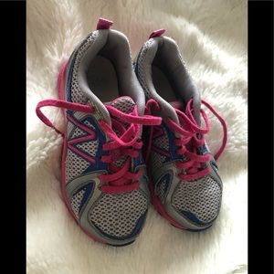 Girls size 13 New Balance Non Marking shoes